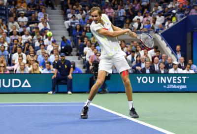 US Open, Daniil Medvedev batte Van De Zandschulp e conquista la semifinale per il terzo anno consecutivo