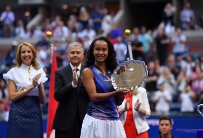 """US Open, Fernandez: """"Volevo commemorare l'11 settembre, New York ha sofferto molto"""""""