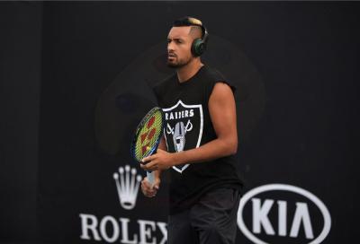 """Nick Kyrgios: """"Ho ancora problemi al ginocchio. Spero di tornare al 100% per gli Australian Open"""""""