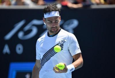 Masters 1000 Indian Wells: Fognini si arrende al terzo contro Tsitsipas