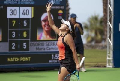 WTA Tenerife, la corsa di Giorgi finisce tra i rimpianti: Osorio vola in finale