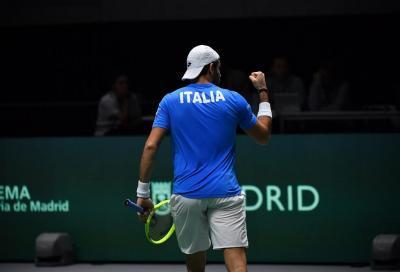 Coppa Davis, ufficiale la squadra azzurra: convocati Berrettini, Sinner, Sonego, Fognini e Musetti