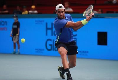 ATP Vienna, Berrettini doma Popyrin all'esordio: sfiderà Basilashvili agli ottavi