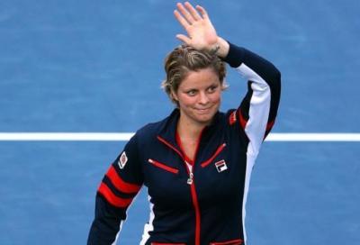 Clijsters saluta, big avanti tutta