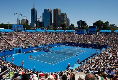 Gli Australian Open raddoppiano