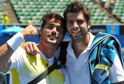 Doppio: Errani-Vinci in finale, Bolelli-Fognini in semifinale