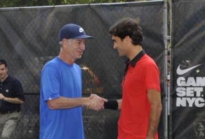 """McEnroe: """"Federer non vincerà mai più uno Slam"""""""