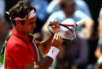Federer ci ripensa e testa il piatto da 98