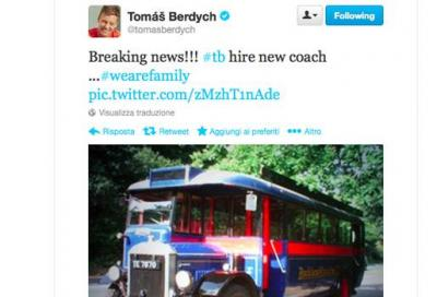 Dopo Becker e Edberg, ecco il nuovo coach di Berdych...