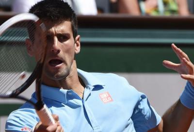 Djokovic addomestica Gulbis
