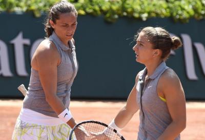 Errani/Vinci, sfuma il quinto Slam