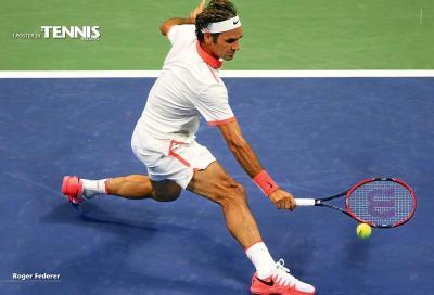 Roger Federer protagonista del nostro poster