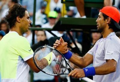 """Nadal va ko con Verdasco: """"Sono troppo nervoso"""""""