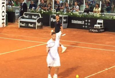 Totti e Djokovic... ragazzi che coppia!