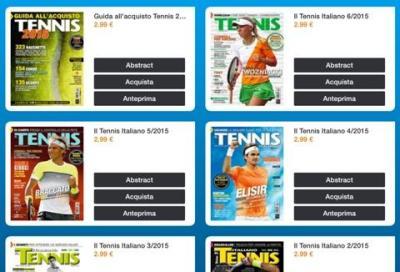 Il Tennis Italiano in digitale a 2,99 euro