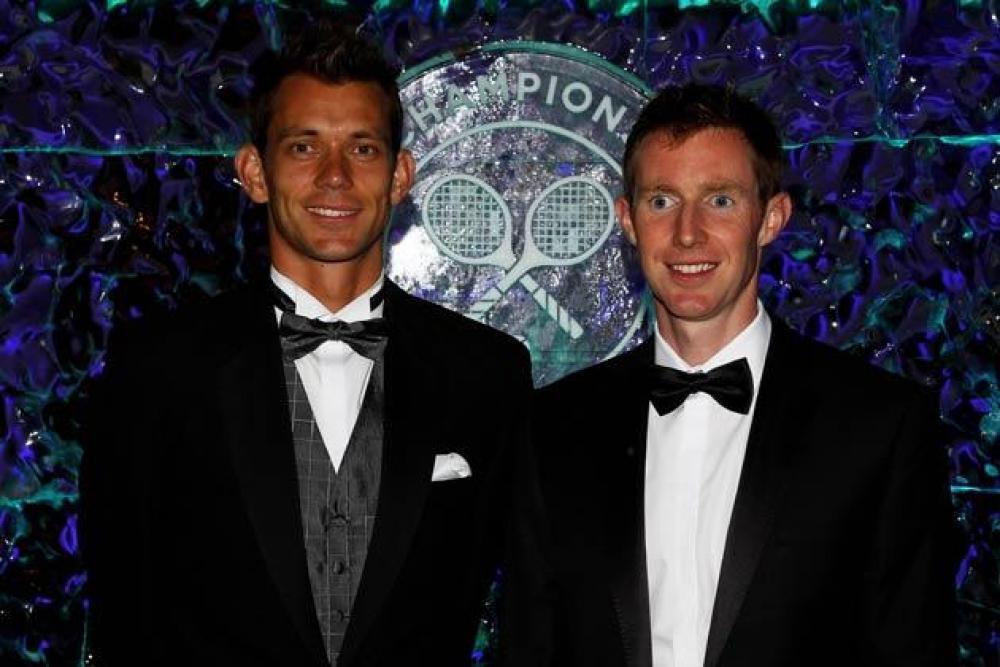 Wimbledon, winners dinner - Il Tennis italiano