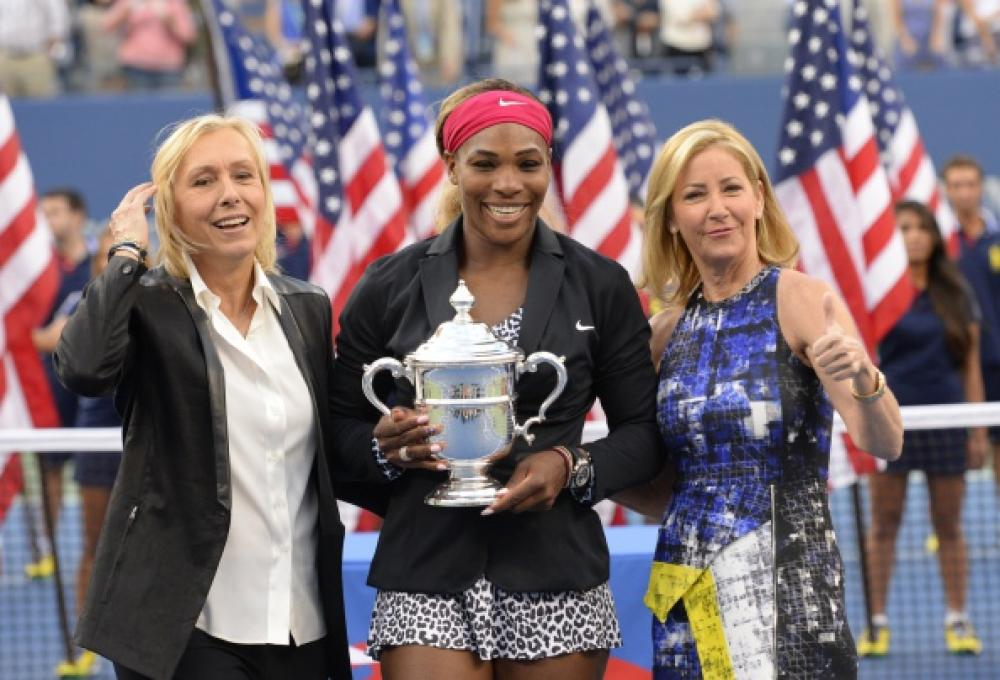 Serena Williams ha dominato Caroline Wozniacki col punteggio di 6-3 6-3. Foto Getty Images / Il Tennis Italiano. Selezione di Max Grassi.Diritti riservati.