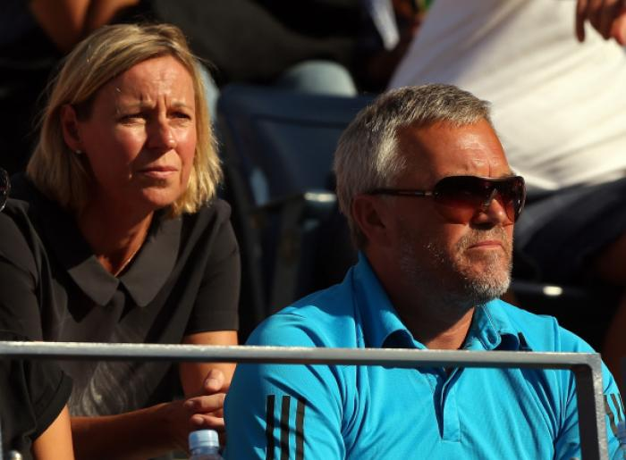 Il papà e allenatore della Wozniacki.Foto Getty Images / Il Tennis Italiano. Selezione di Max Grassi.Diritti riservati.