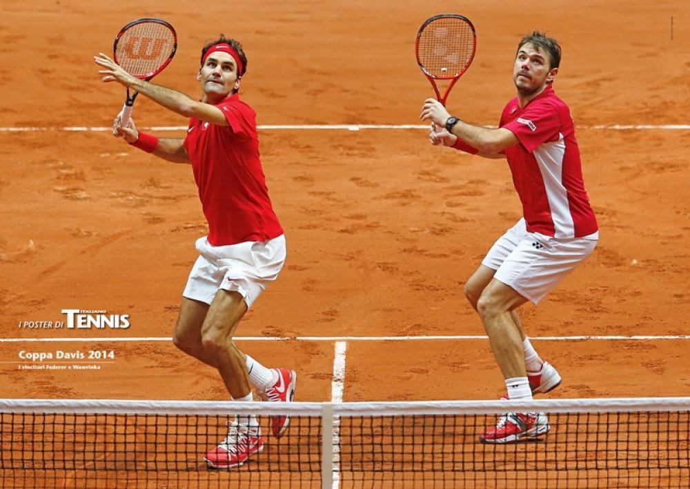 """Il nono poster allegato al numero di gennaio 2015 de """"Il Tennis Italiano""""Il Tennis Italiano. Selezione di Max Grassi.Diritti riservati."""