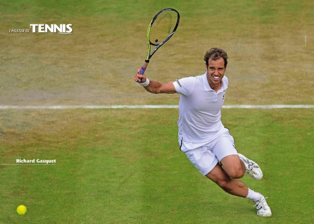 """Il sedicesimo poster allegato al numero di agosto 2015 de """"Il Tennis Italiano""""Il Tennis Italiano. Selezione di Max Grassi.Diritti riservati."""
