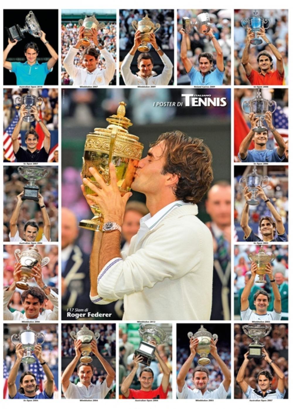 """Il quinto poster allegato al numero di settembre 2014 de """"Il Tennis Italiano""""Il Tennis Italiano. Selezione di Max Grassi.Diritti riservati."""