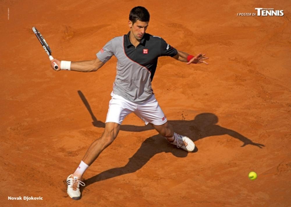 """Il secondo poster allegato al numero di giugno 2014 de """"Il Tennis Italiano""""Il Tennis Italiano. Selezione di Max Grassi.Diritti riservati."""