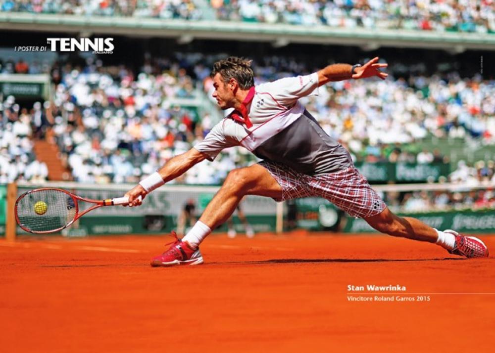 """Il quindicesimo poster allegato al numero di luglio 2015 de """"Il Tennis Italiano""""Il Tennis Italiano. Selezione di Max Grassi.Diritti riservati."""