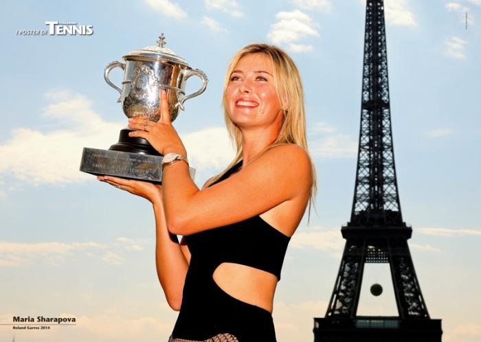 """L'ottavo poster allegato al numero di dicembre 2014 de """"Il Tennis Italiano""""Il Tennis Italiano. Selezione di Max Grassi.Diritti riservati."""
