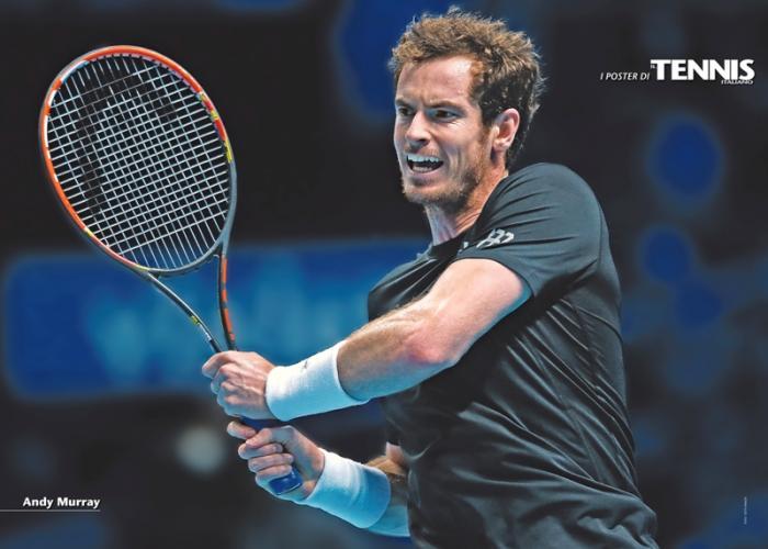 """Il ventesimo poster allegato al numero di dicembre 2015 de """"Il Tennis Italiano""""Il Tennis Italiano. Selezione di Max Grassi.Diritti riservati."""