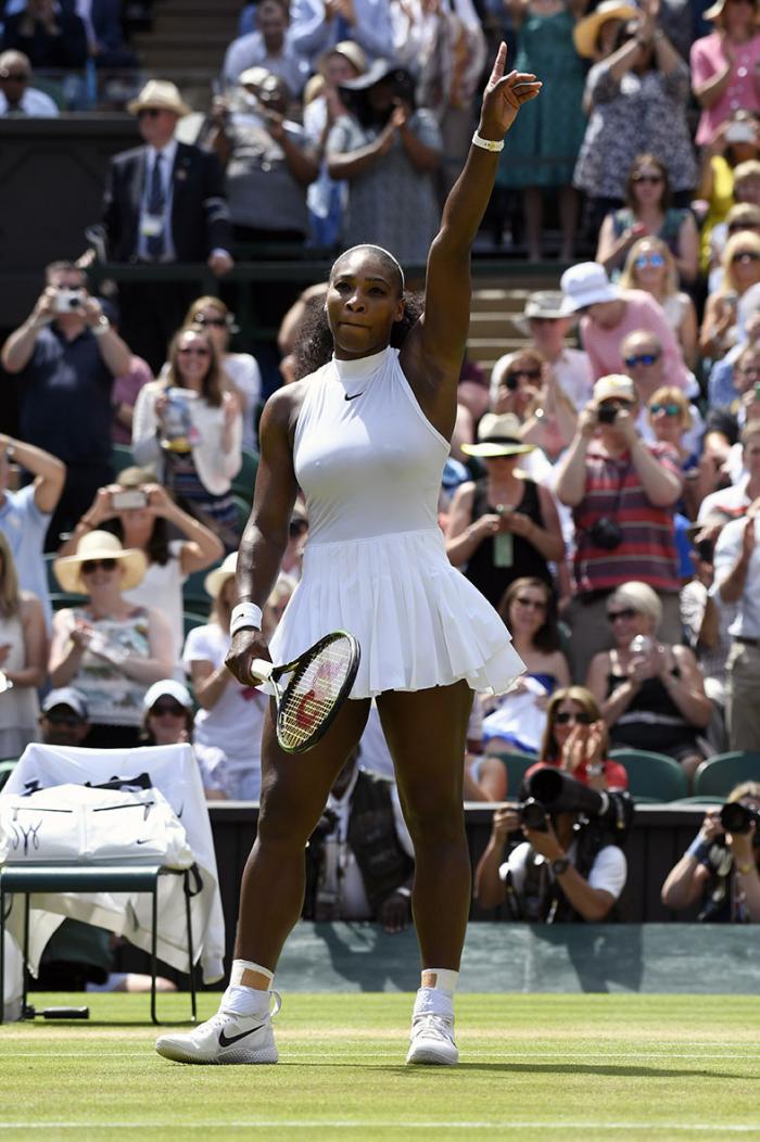 Niente finale tra Williams: Serena non dà scampo a Elena Vesnina, Venus cede ad Angelique Kerber. Foto Ray Giubilo. Selezione Fabio Bagatella. Il Tennis Italiano. Diritti riservati.