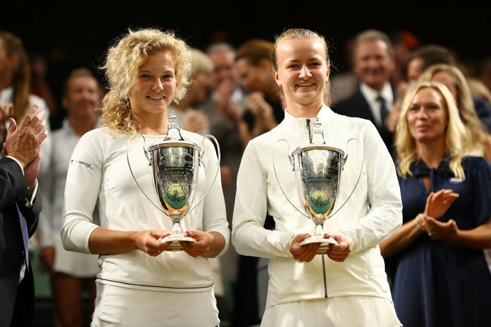 Dopo il Roland Garros, le ceche Katerina Siniakova e Barbora Krejcikova si sono aggiudicate anche Wimbledon.