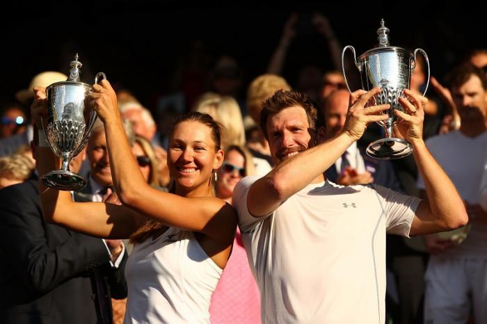 Come tradizione, il torneo si chiude con la finale del doppio misto: a sorpresa, si sono imposti l'austriaco Alexander Peya e l'americana Nicole Melichar. Battuti in finale Jamie Murray e Victoria Azarenka.