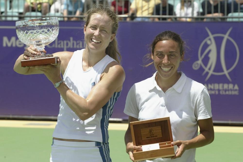 Canberra 2003 – Prima di vincere il suo primo titolo WTA, Francesca è dovuta passare da parecchie finali perdute. Aveva iniziato nel 2000, a Tashkent, poi nel 2003 avrebbe perso un match non impossibile contro Meghan Shaughnessy nella capitale amministrativa dell'Australia.