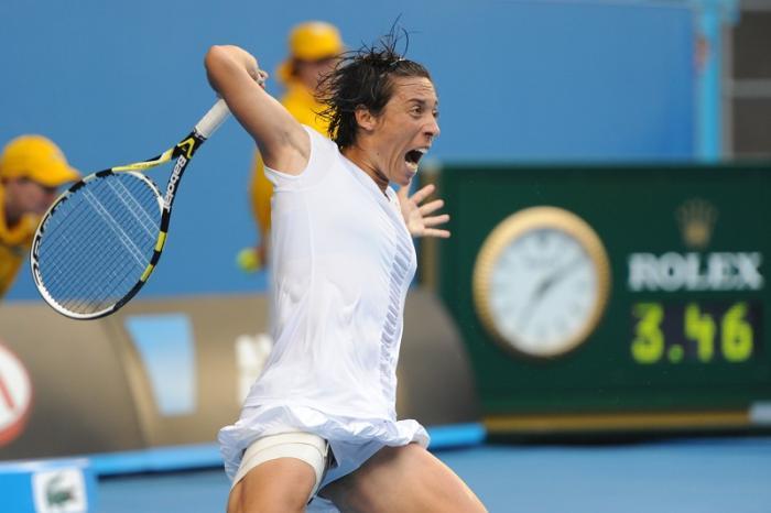 Australian Open 2011 – Per 4 ore e 44 minuti, Francesca e Svetlana Kuznetsova si danno battaglia presso l'Hisense Arena. È una sfida di nervi, di tecnica, ma soprattutto di resistenza. La spunta Francesca al trentesimo gioco del terzo set, con buona pace di chi vorrebbe istituire il tie-break nel set decisivo.