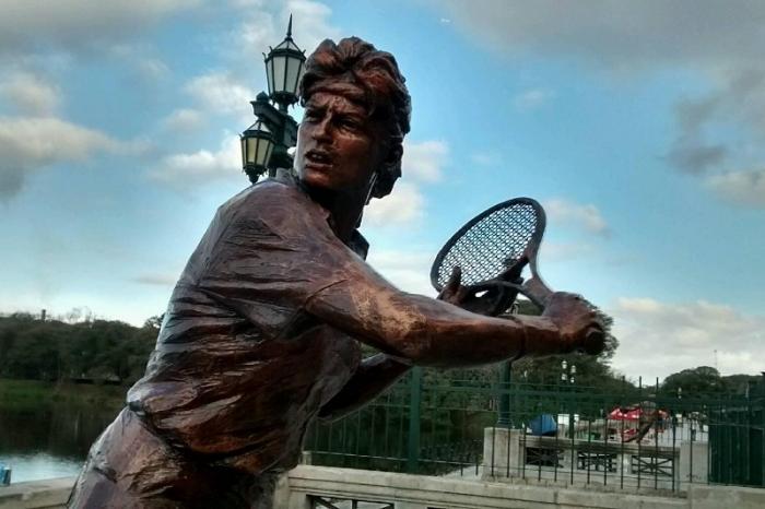 La città di Buenos Aires ha scelto di onorare Gabriela Sabatini con una statua
