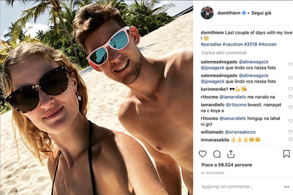 La coppia tennistica della stagione: Kristina Mladenovic e Dominic Thiem