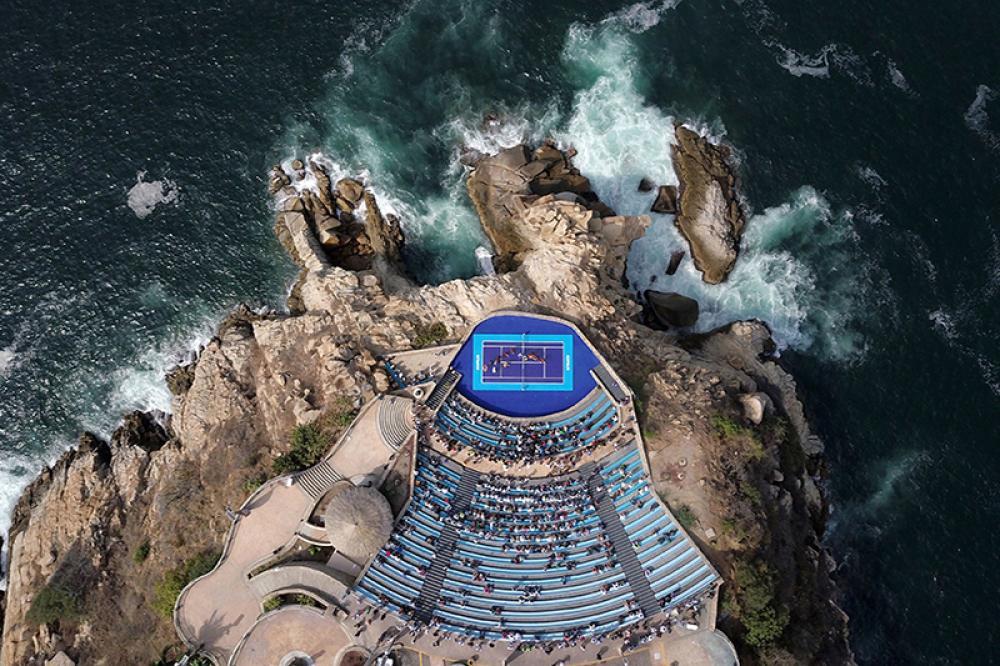 la miglior location dell'anno: Acapulco, Messico